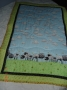 sheep cot quilt